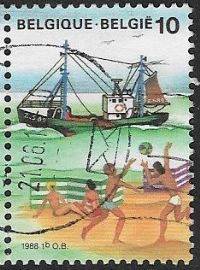 Belgium SG2937 1988 The Sea 10f good/fine used